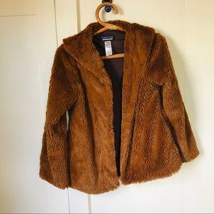 Girls Patagonia Furry Jacket
